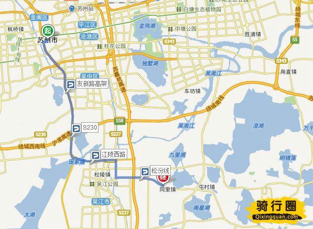 体育 骑游天下 > 骑行黄桥古镇旅游攻略路线地图   从上海出发到同里
