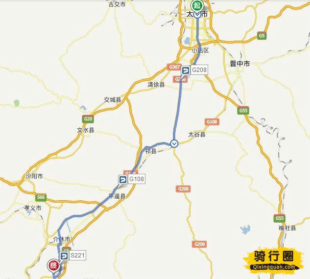 骑车游古镇-美国-骑行王家大院路线攻略攻略王签面山西北京地图图片
