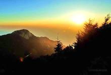 东岳泰山:静候美丽的日出