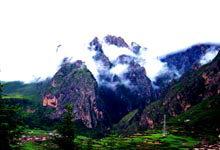 云雾中的香格里--甘肃扎尕那