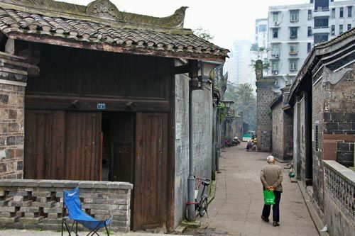 宜宾冠英街 世界最短古街