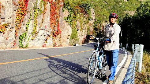 骑行北京白河峽谷