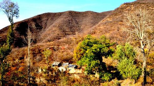 秋天的妙峰山——禅房的另一种美
