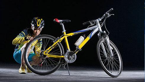 如何补自行车内胎?