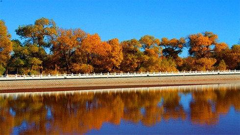 骑车游古镇-内蒙古自治区-额济纳攻略路线地图 额济纳旅游攻略