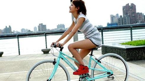 骑单车也能让你拥有窈窕好身材