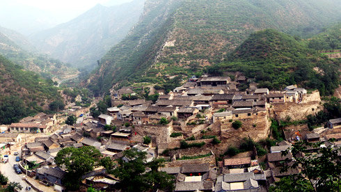 骑车游古镇-北京-骑行爨底下村攻略路线地图 爨底下村旅游攻略
