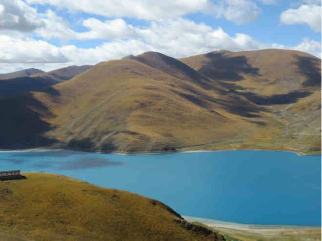 羊卓雍错,大美的蓝色圣湖