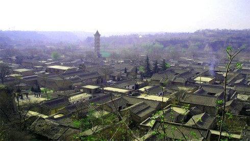 骑车游古镇-陕西-骑行党家村攻略路线地图 党家村旅游攻略