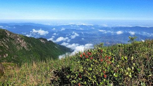 2013年4月30日—5月1日江西武功山