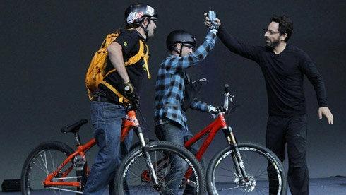 谷歌眼镜 Google Glass 正在颠覆自行车运动体验