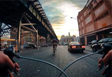 """摄影项目""""自行车眼中的纽约"""""""