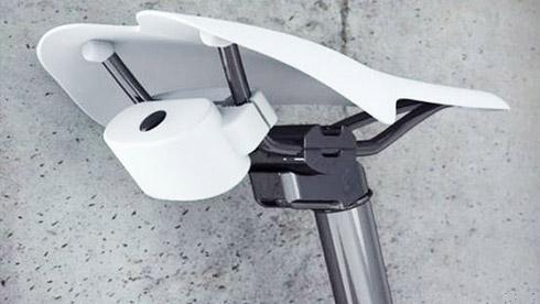 自行车报警器:有人偷车可发出120分贝声音