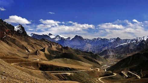 三藏回朝之孤身反骑新藏线—印刻在胡杨林里的骑迹