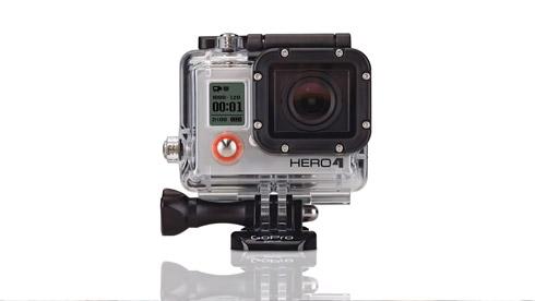 10月8日GoPro发售新款 HERO4 运动摄像机 预售价499美元