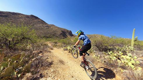 美国四大山地自行车道 环境美丽赛道变化大