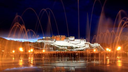 西藏拉萨旅游传统黄金路线