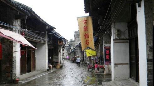 骑车游古镇-广西-骑行兴坪古镇旅游攻略路线地图