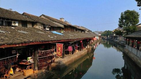 骑车游古镇-浙江-骑行安昌旅游攻略路线地图