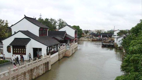 骑车游古镇-江苏-骑行枫桥旅游攻略路线地图