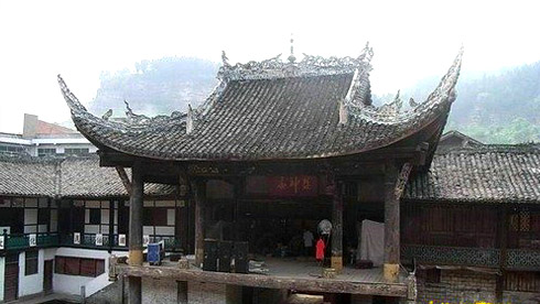 骑车游古镇-四川-骑行罗泉攻略路线地图 罗泉旅游攻略