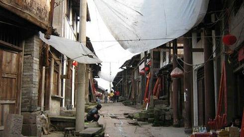 骑车游古镇-重庆-骑行涞滩古镇攻略路线地图 涞滩古镇旅游攻略