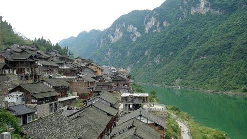 骑车游古镇-重庆-骑行龚滩古镇攻略路线地图 龚滩古镇旅游攻略