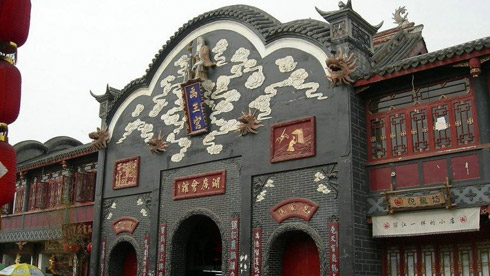 骑车游古镇-四川-骑行洛带古镇攻略路线地图 洛带古镇旅游攻略