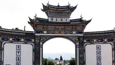骑车游古镇-云南-喜州镇路线攻略地图