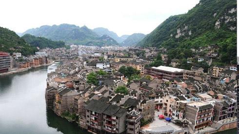 骑车游古镇-贵州-镇远路线重庆时时彩开奖号码地图