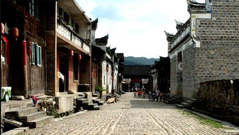 骑车游古镇-贵州-隆里路线攻略地图