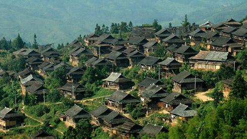 骑车游古镇-贵州-岜沙攻略路线地图  岜沙古镇旅游攻略
