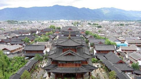 骑车游古镇-云南-骑行大理古城攻略路线地图 大理旅游攻略