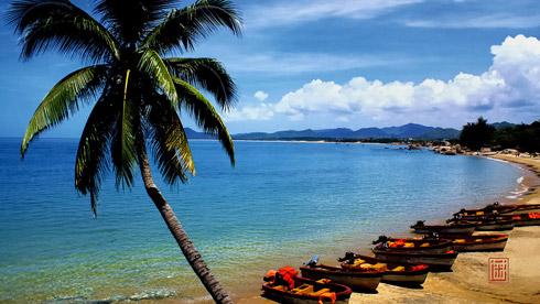 冬季的温暖阳光 海南环岛7天东线、中线骑行