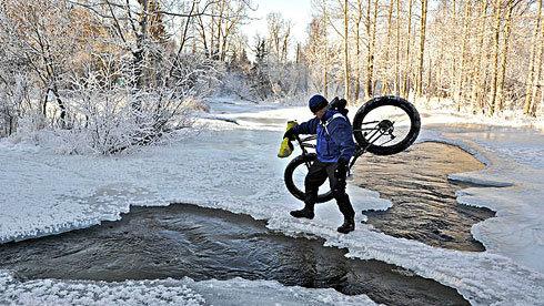 在高寒地区骑自行车冻伤的预防及其简易治疗办法