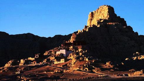 走进西藏阿里古格王国遗址 谜一般的历史