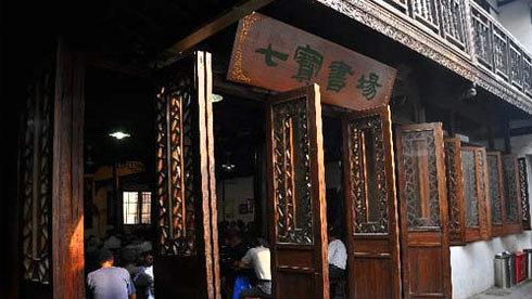 品读老上海 小巷里寻找最古老书场踪迹