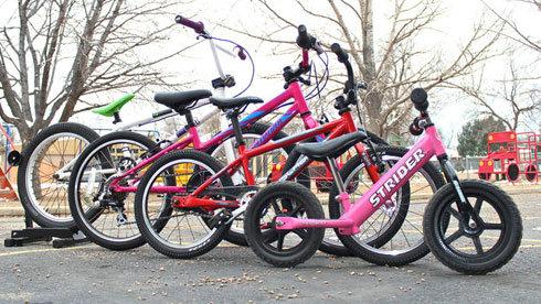 为孩子购买儿童自行车 如何选择合适的轮径?