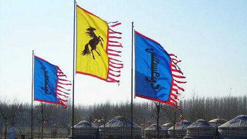 """蒙古族""""风马""""俗溯源 风马的来历"""