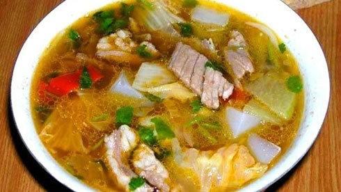 新疆美食:粉汤——回民的风味佳肴