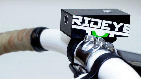 """自行车上的""""黑匣子"""" 自行车行车记录仪 Rideye"""