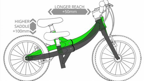 一辆可以慢慢长大的自行车