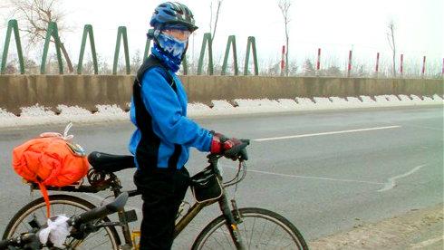 13岁小伙下江南——冬季山东到连云港单车旅行