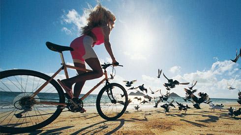 骑自行车的七个好处
