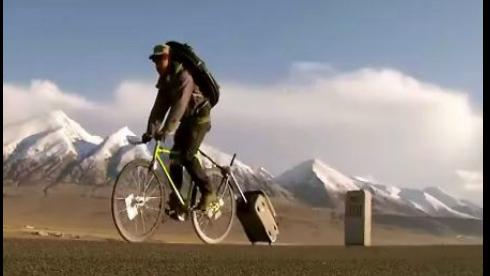 视频:死飞哥 青藏进川藏出 《飞》