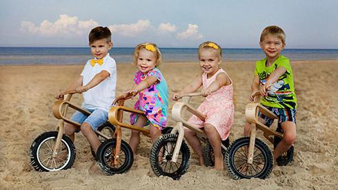 学自行车要从娃娃抓起:18个月宝宝都能掌控的自行车