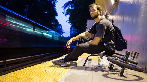 Red Bull纽约踩车生活:用BMX书写纽约的四季生活