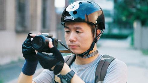 潮到爆:Nutcase时尚黑8骑行头盔