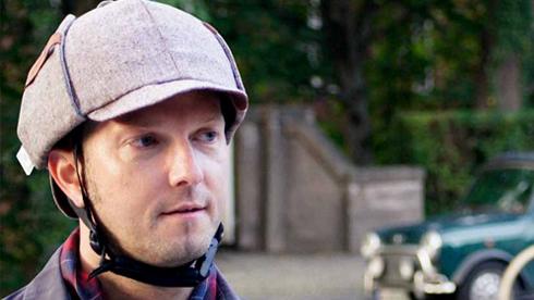 复古骑行头盔:HELT PRO TWEED HOLMES