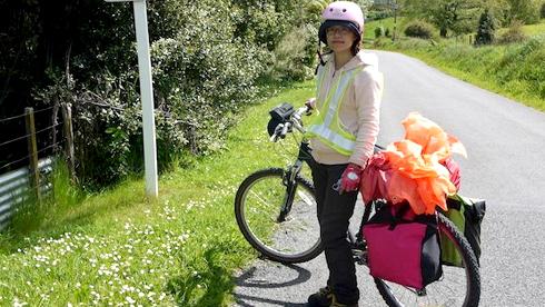 双胞胎姐妹新西兰骑行游记 最美的风景在路上